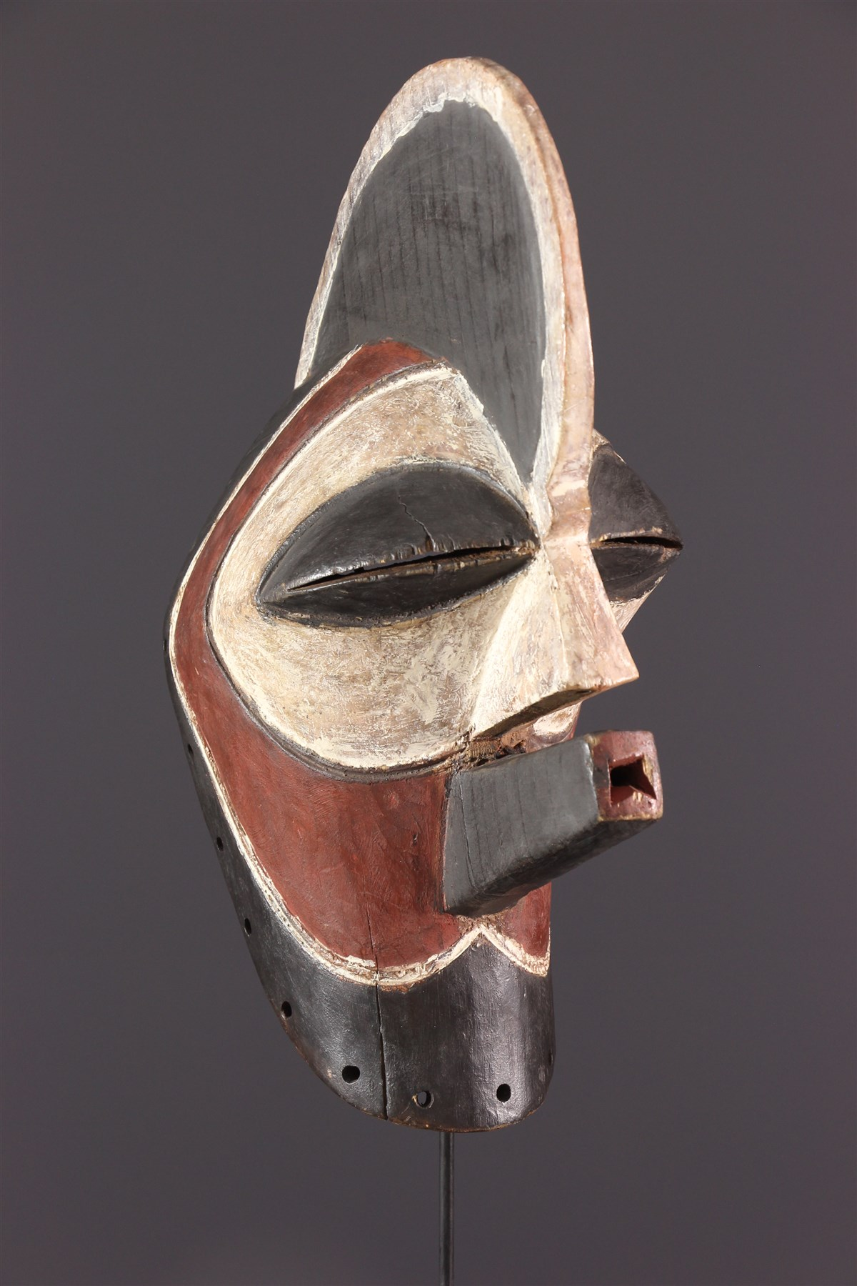Masque Kifwebe Kilume Songye - Art africain