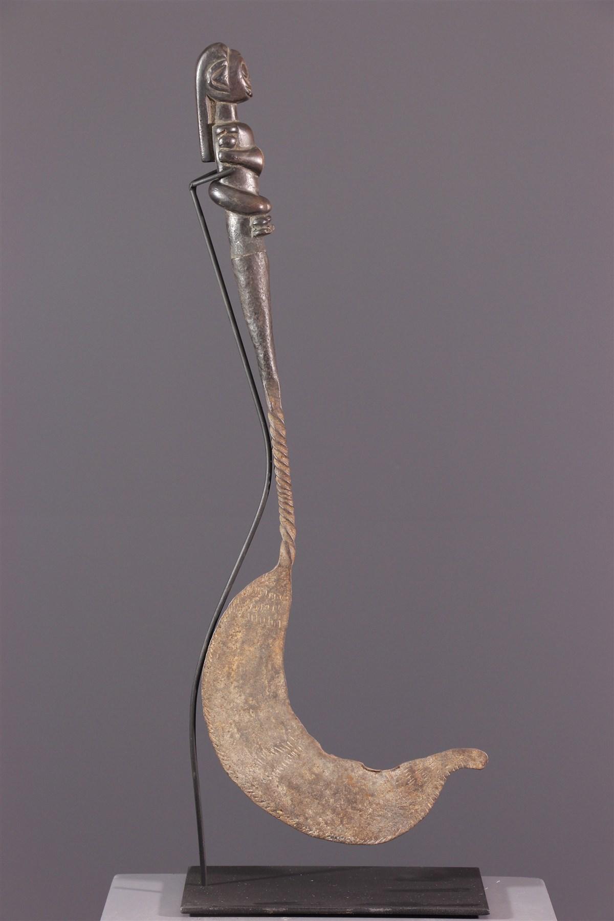Couteau-faucille Fang - art primitif