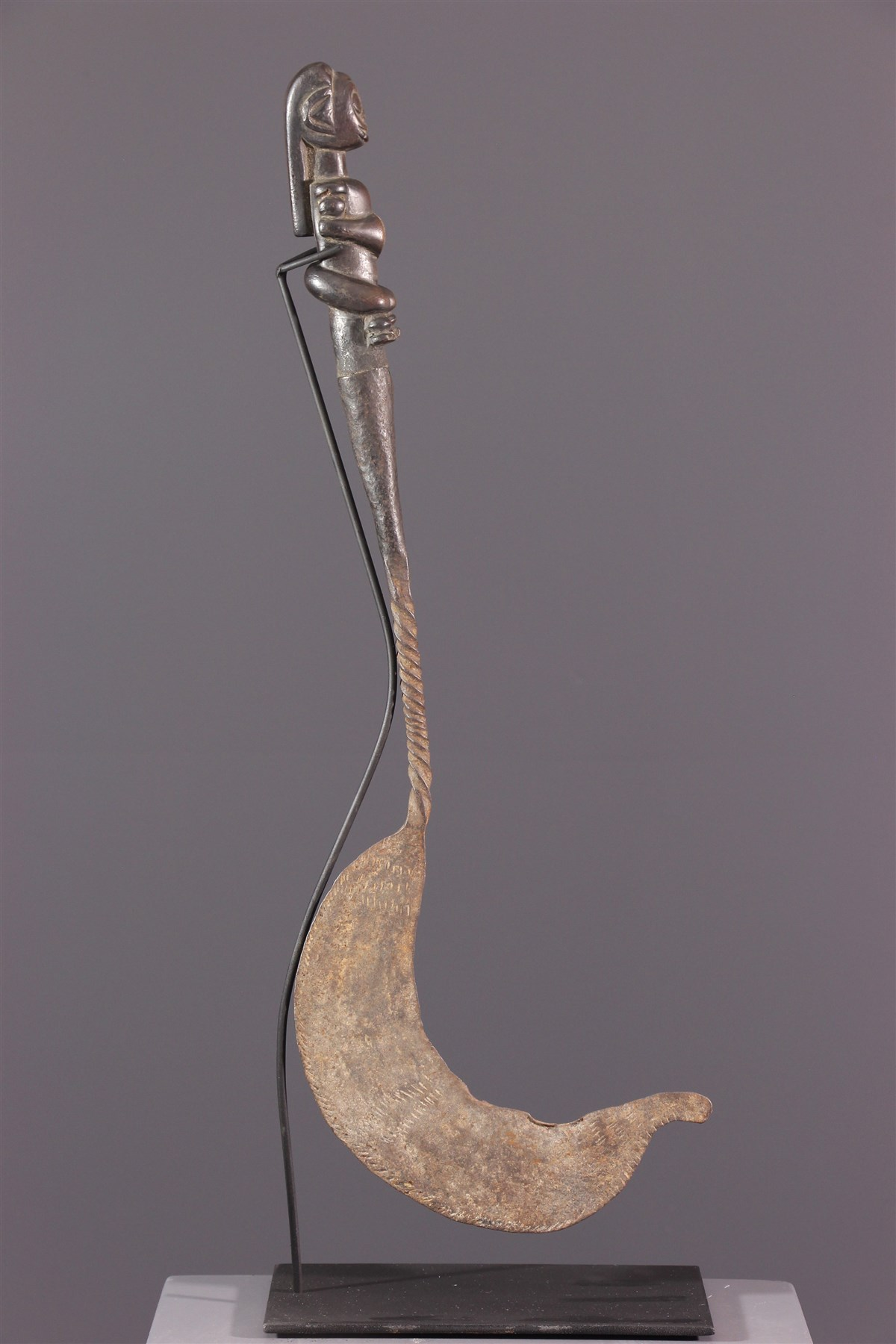 Couteau-faucille Fang - art africain