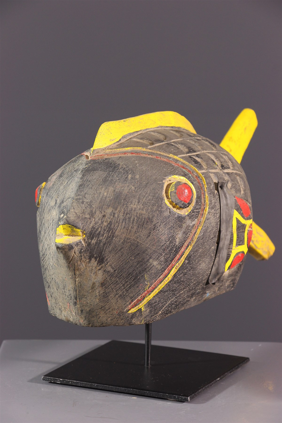 Marionnette-poisson Bozo - Art africain