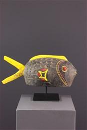 Masque africainMarionnette-poisson Bozo