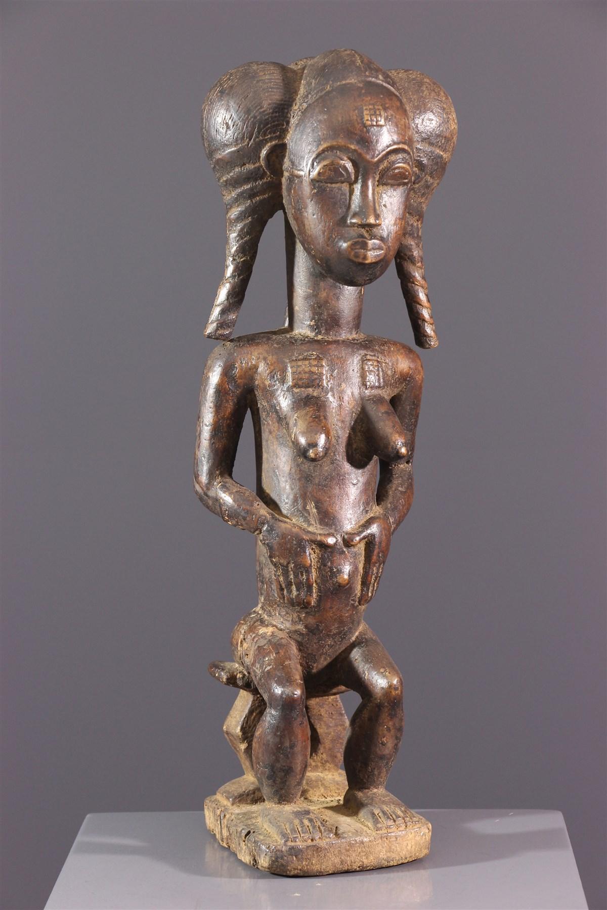 Statue Baoulé - Art africain
