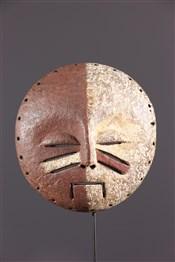 Masque africainMasque bicolore Yela
