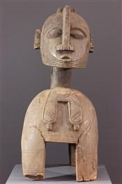 Masque africainMasque heaume Baga Nimba