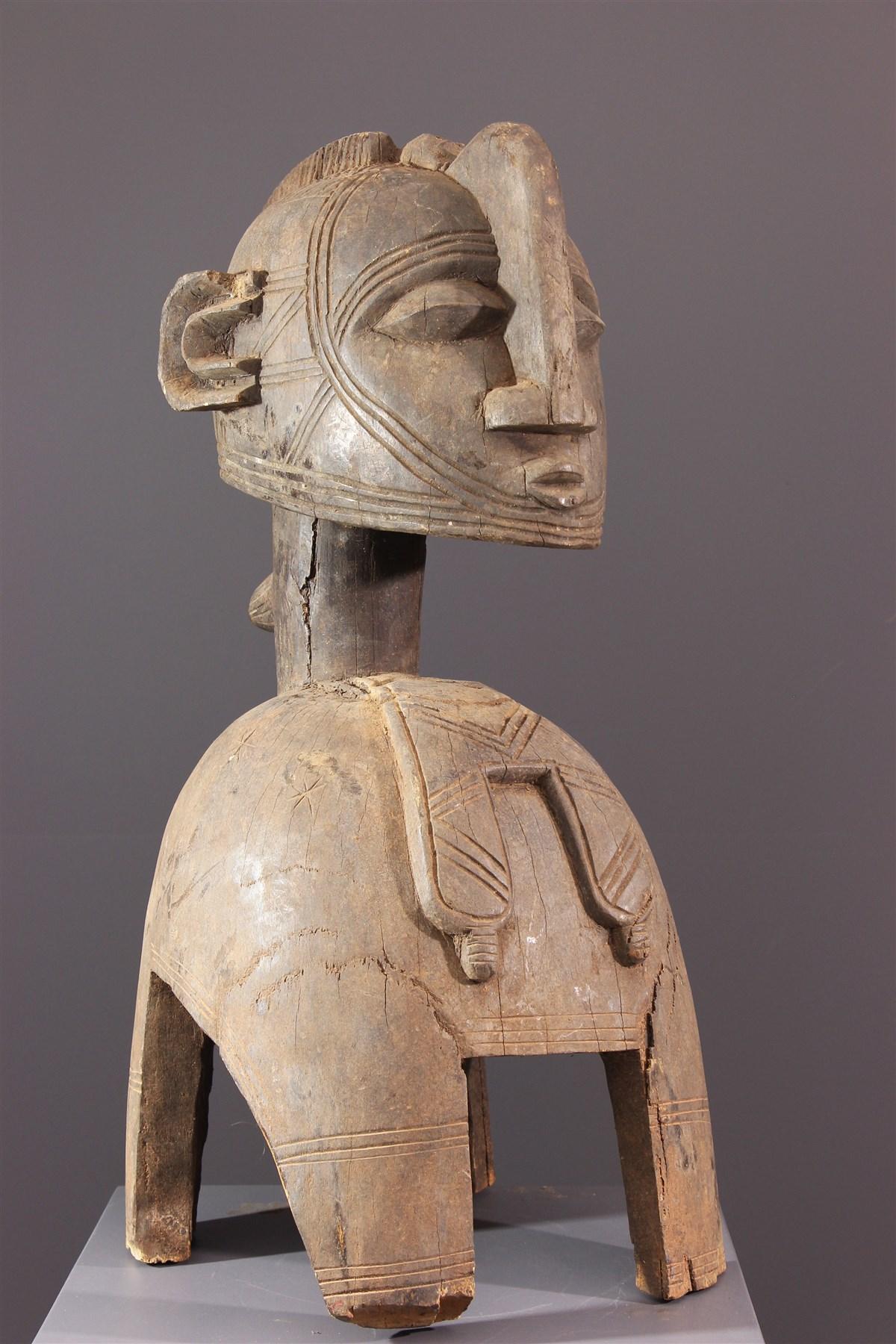 Masque heaume Baga Nimba - Art africain