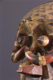 Masque africainMasque Pwoom Itok Ishyeenmaal Kuba