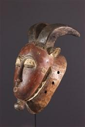 Masque africainMasque Baoule Kpwan Plé du Goli