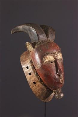 Masque Baoule Kpwan Plé du Goli