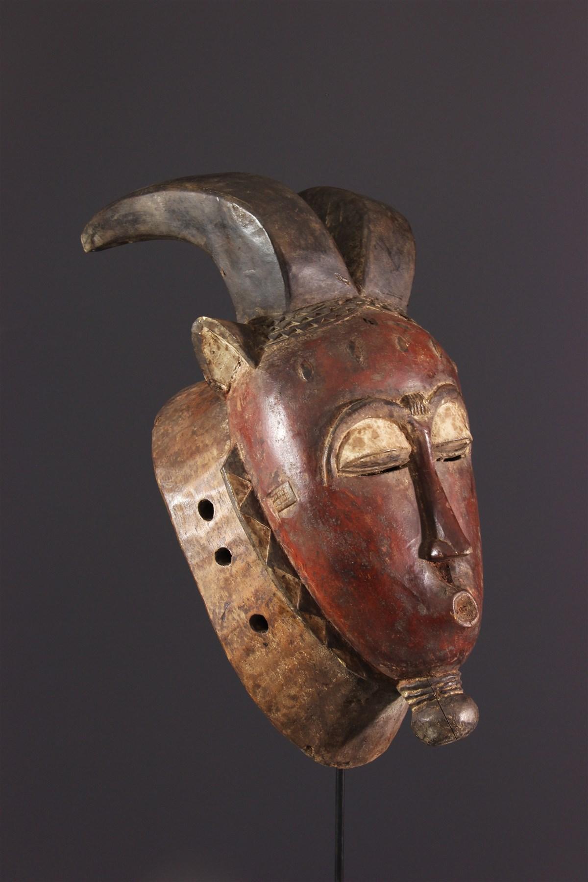 Masque Baoule Kpwan Plé du Goli - Art africain