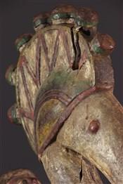 Masque africainMasque-autel Baga