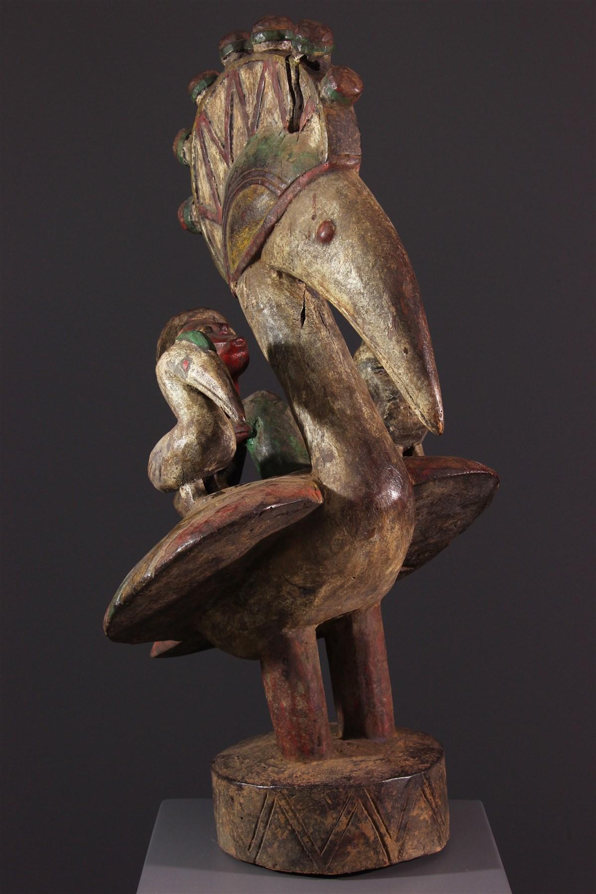Masque-autel Baga - Art africain
