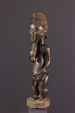 Statue  Baoulé Asie Usu