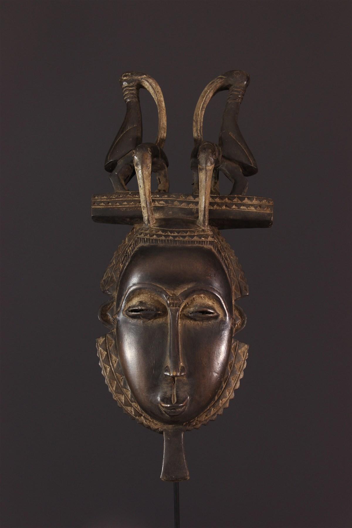 Masque Youhoure Lomane du groupe je - Art africain