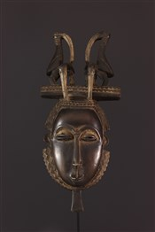 Masque africainMasque Youhoure Lomane du groupe je
