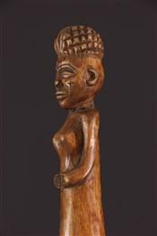 Objets usuelsBâton sculpté Chokwe