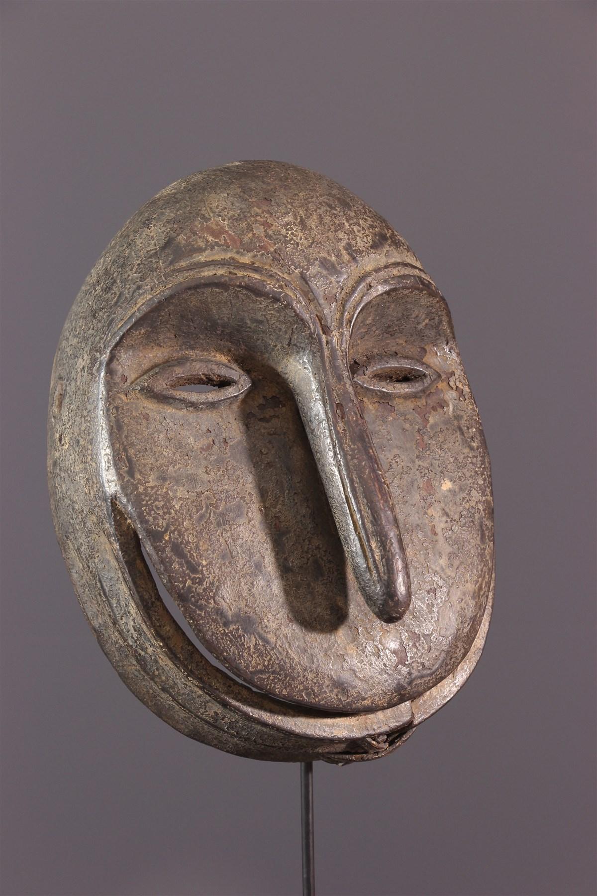 Masque Soko mutu Hemba simiesque - Art africain