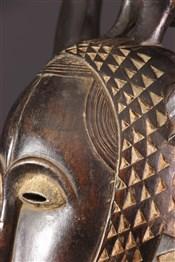 Masque africainMasque Yohoure Lomane du groupe je