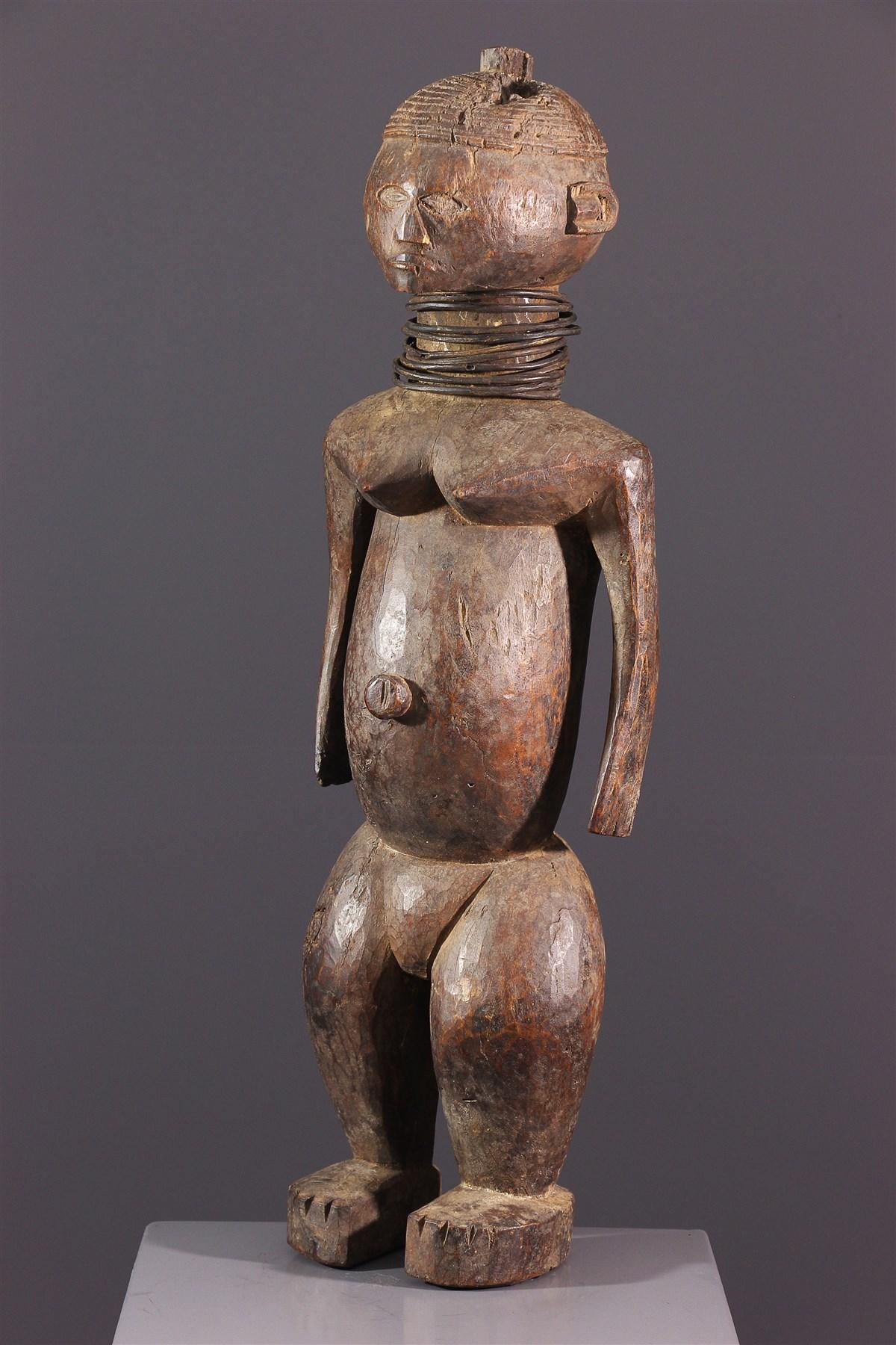Figure féminine Ngbaka - Art africain