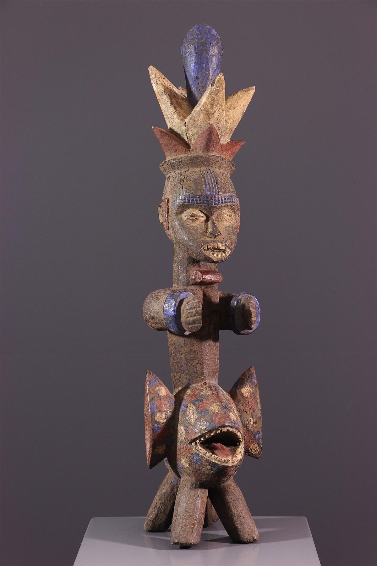 Statue Iphri Urhobo / Isoko - Art africain