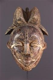 Masque africainMasque Punu/Tsengi Ikwara
