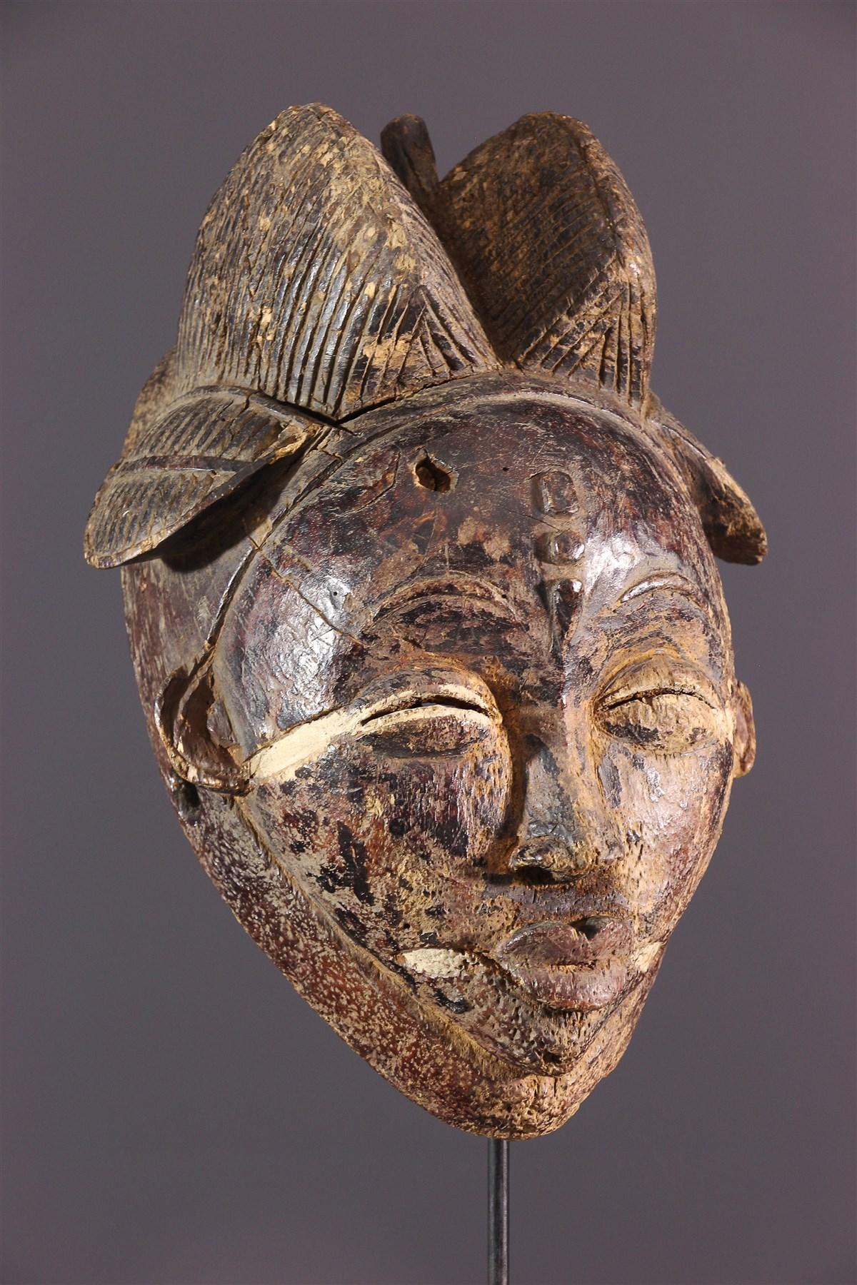 Masque Punu/Tsengi Ikwara - Art africain