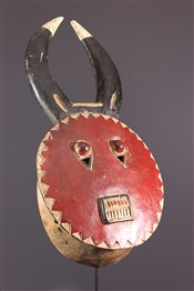 Masque africainMasque Kplé-Kplé du Goli