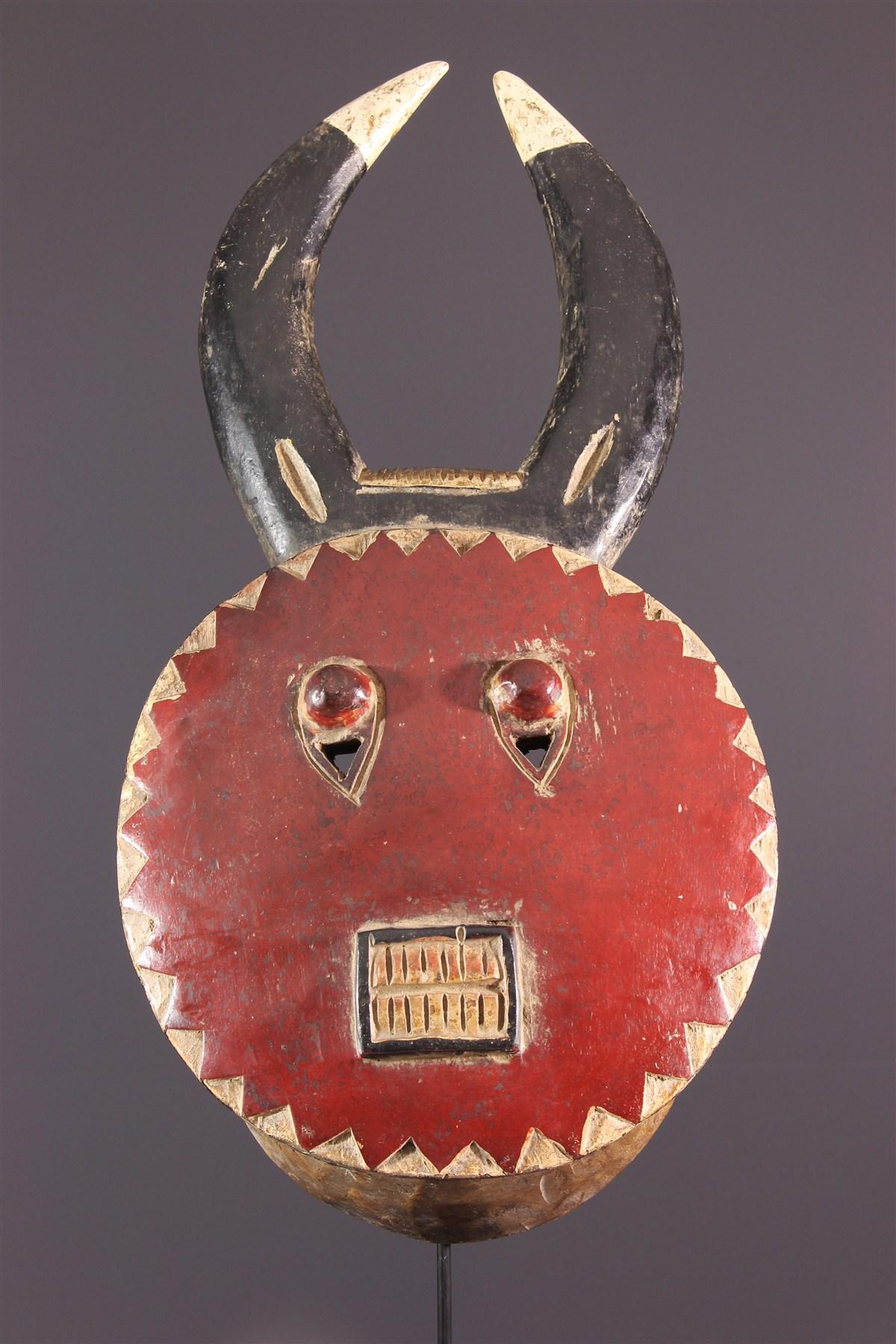 Masque Kplé-Kplé du Goli - art africain
