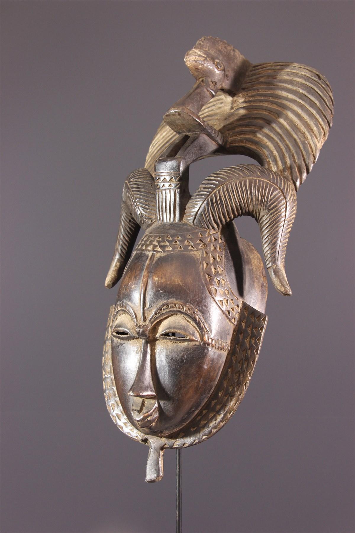 Masque Yohouré du groupe je (Dyé) - Art africain