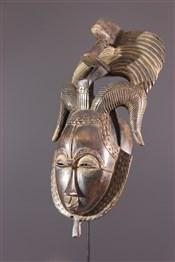 Masque africainMasque Yohouré du groupe je (Dyé)