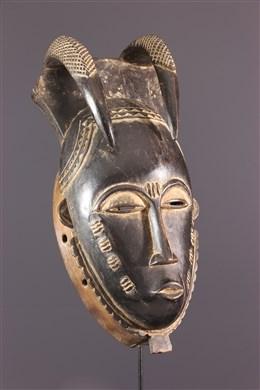 Masque Baoulé/Yohouré du groupe lo