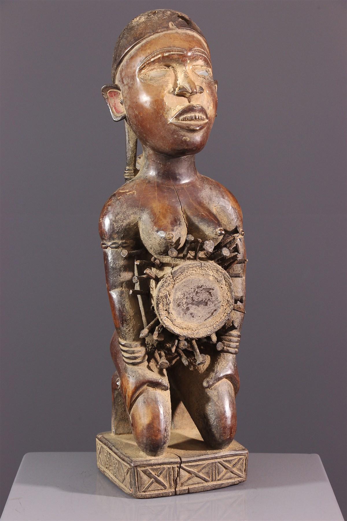 Maternité Phemba Kongo - Art africain