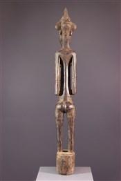 Statues africainesFigure féminine Pombibele Senoufo