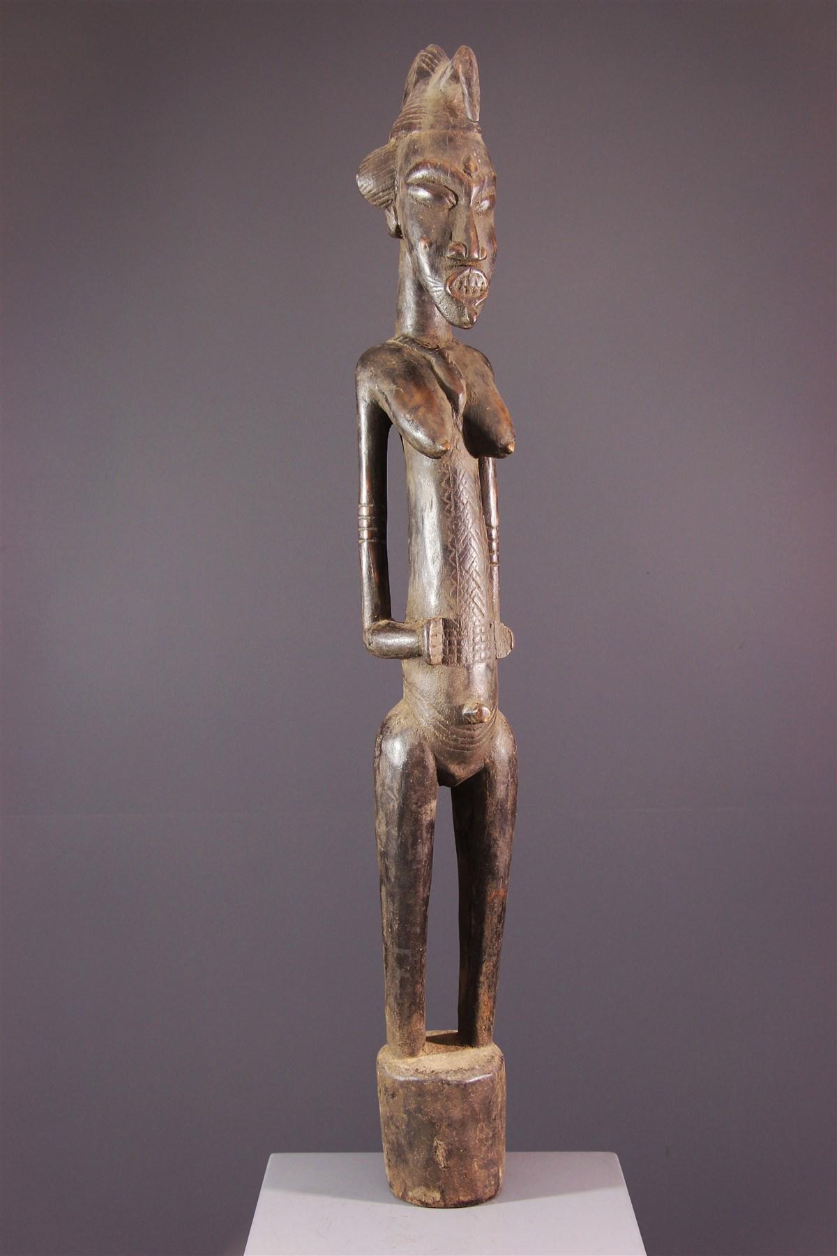 Figure féminine Pombibele Senoufo - Art africain