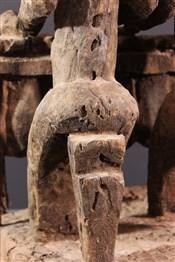 Statues africainesJoueurs de balafon Dogon