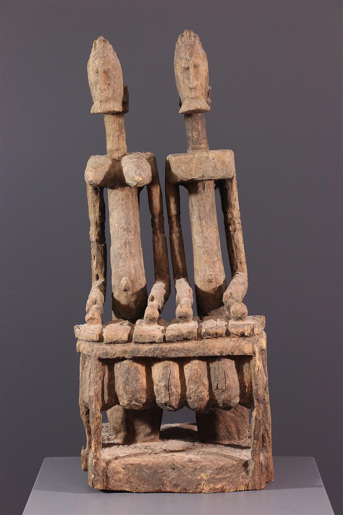 Joueurs de balafon Dogon - Art africain