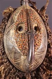 Masque africainMasque facial  Mossi