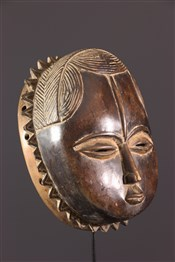 Masque africainMasque Baoule Lune