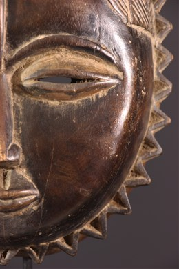 Masque Baoulé Lune