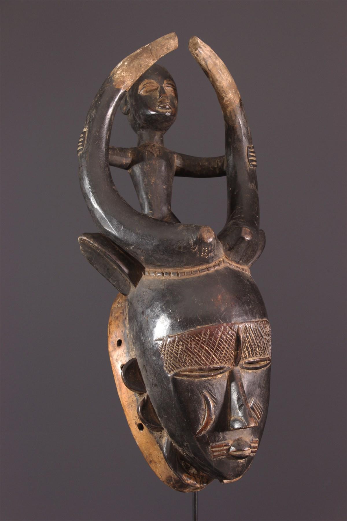 Masque Ligbi/Djimini du Dô Siginkuru-Ayna - art africain