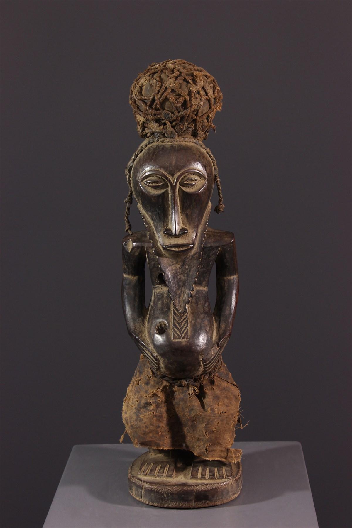 Statue d'ancêtre Bembé/Bassikasingo - Art africain
