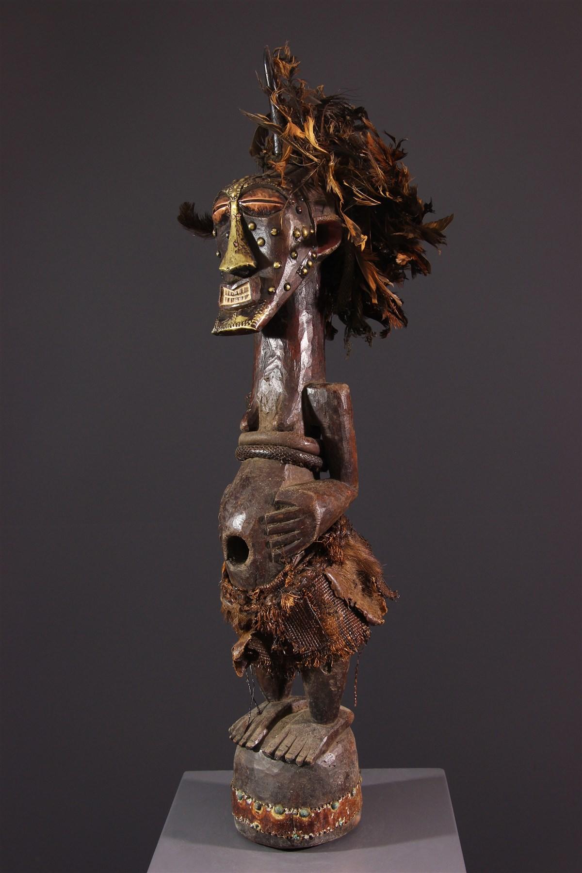 Statue Kalebwe Songye - Art africain