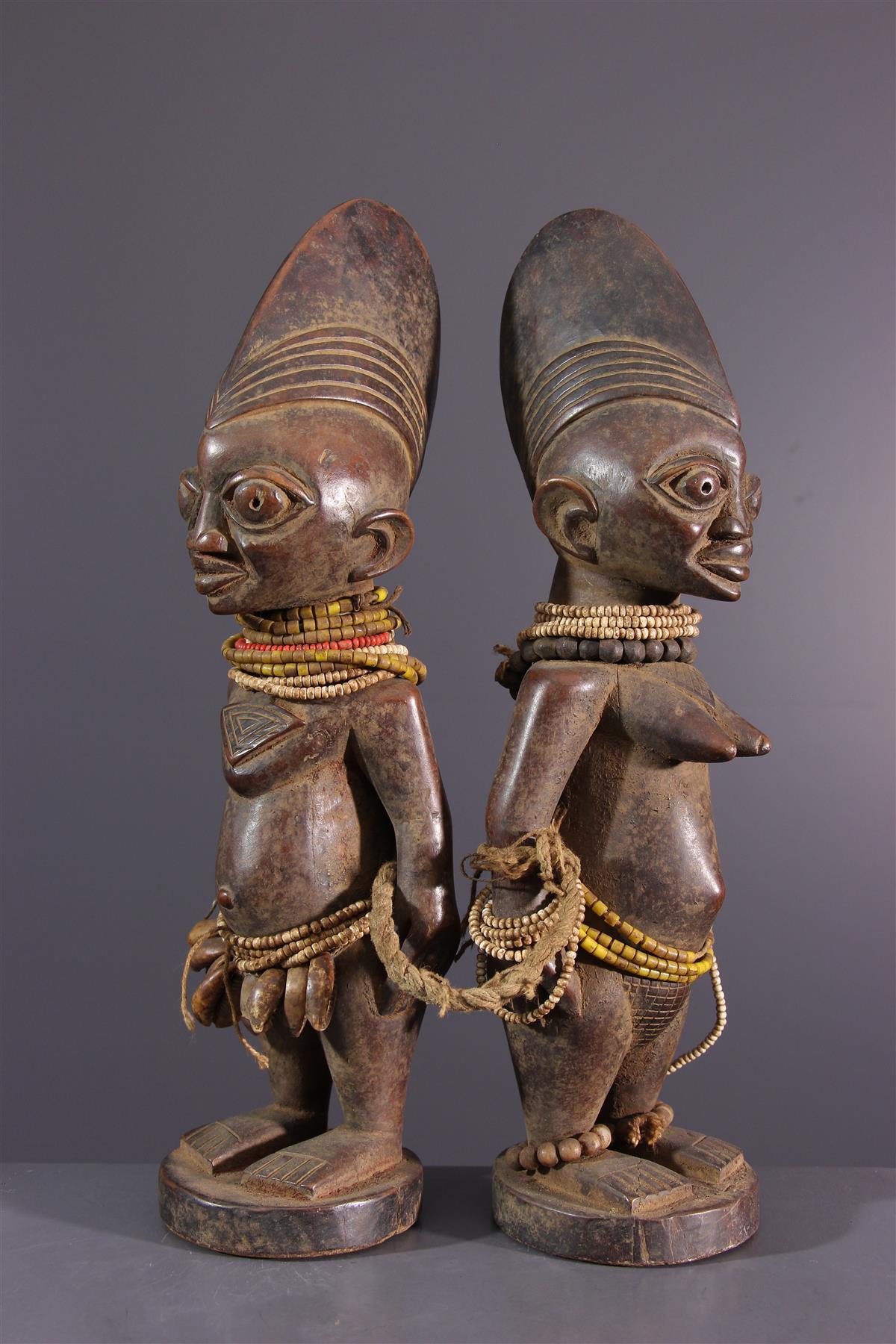 Statuettes Ere Ibeji - Art africain