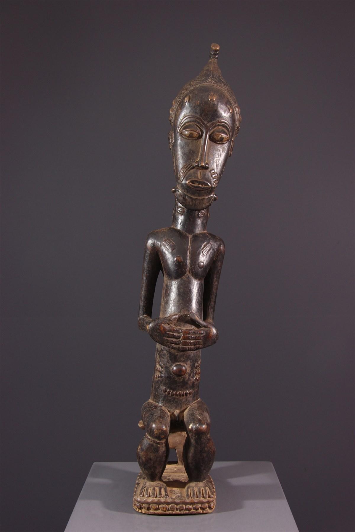 Statue Asie Usu Baoulé - art primitif
