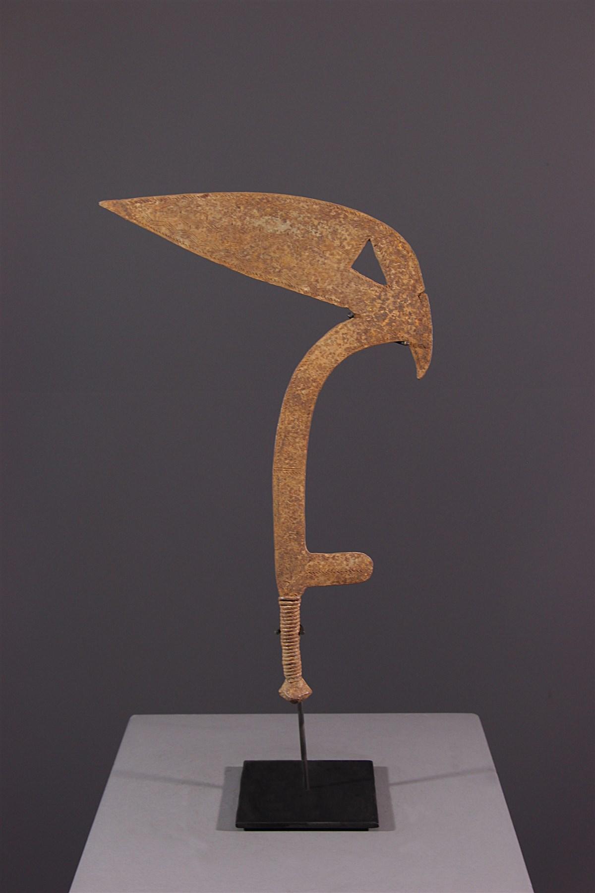 Monnaie-Arme de type Ngombe - art primitif