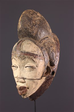 Masque Punu/Tsengi de la danse Okuyi
