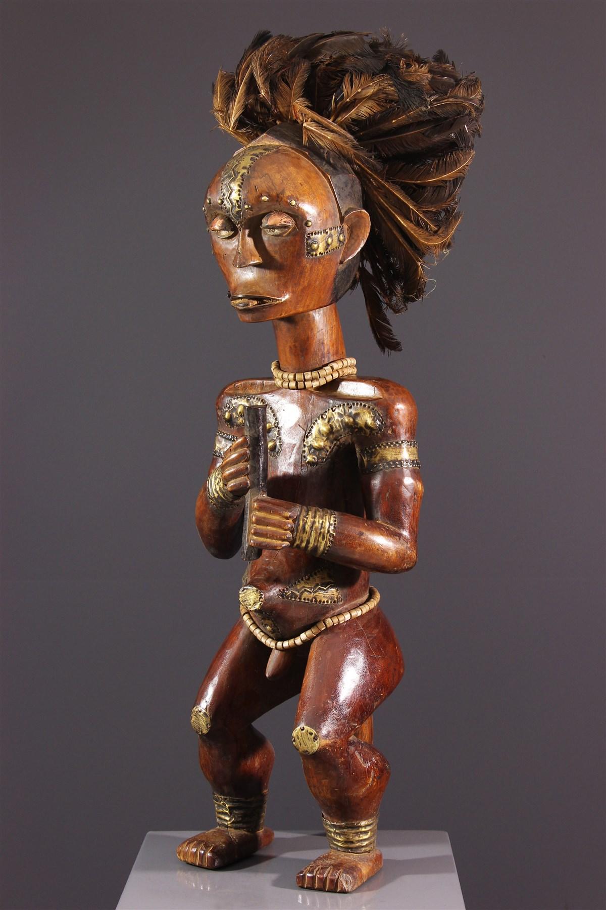 Figure d'ancêtre Fang Byeri - art africain