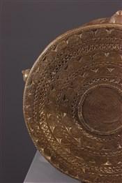 Objets usuelsTabouret de prestige Tikar en bronze