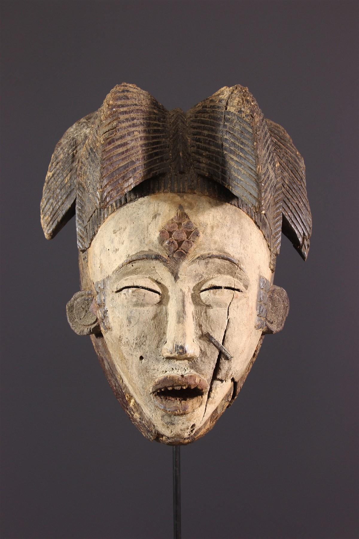 Masque Punu Okuyi - art primitif