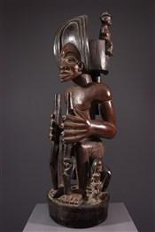 Statues africainesEffigie de chef Chokwe