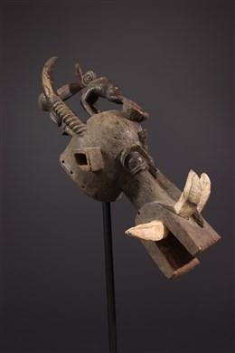 Masque-heaume Kponiugo Senoufo